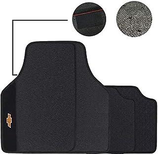 Jogo Tapete PVC Universal Chevrolet Onix/Prisma/Spin/Celta/Montana Impermeável Lavável C Base Antiderrapante