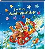 Der kleine Weihnachtsbär: Funkel-Bilderbuch mit Glitzersteinen (Bilderbuch mit integriertem Extra - Ein Weihnachtsbuch: Kinderbücher ab 3 Jahre)