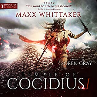 Temple of Cocidius audiobook cover art
