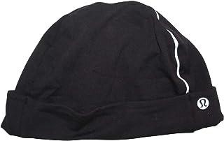 Lululemon Men's Cold Terrain Run Beanie Hat Black Mens Skull Cap Reflective LM9AAFS. Athletica