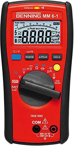 Benning mm 6-1 TRMS-Digital-Multimeter, 1 Stück, 044086