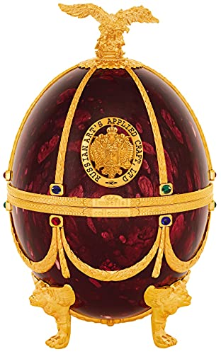 Vodka Imperial Collection Faberge - Huevo, color rojo