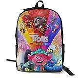 Trolls World Tour The Child Backpack Bookbag Daypack 16-Inch Laptop & Tablet Fashion for Travel Backpack