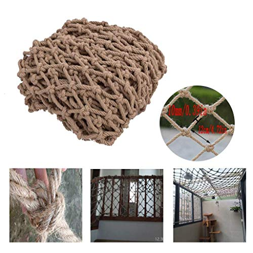 Check Out This HWJ Children's Climbing Net Retro Decorative Net Stair Safety Net Protective Net Ceil...
