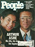 Arthur and Jeanne Ashe, Halle Berry, Fred Astaire - February 22, 1993 People Weekly Magazine