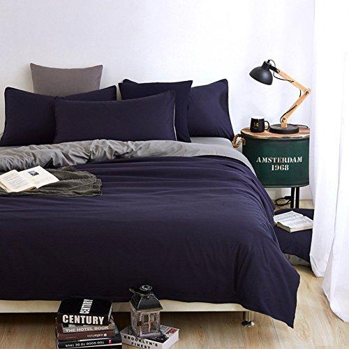 Tourwin 4pcs Bedding Set Bedclothes Queen Size Duvet Cover+Bed Sheet+2 Pillowcases Home Textiles