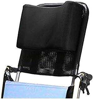 Apoyacabeza para silla de ruedas Soporte para el cuello Asiento cómodo Respaldo Cojín, Acolchado ajustable