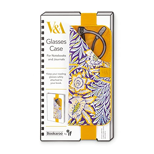 IF V&A - Funda para gafas de Bookaroo (diseño de tulipán y sauce)