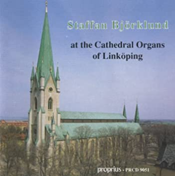Staffan Björklund at the Cathedral Organs of Linköping