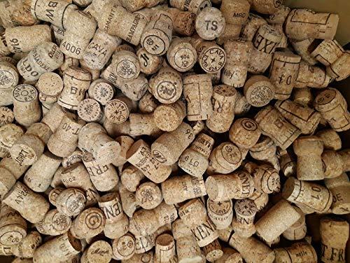 30 Naturkorken Sektkorken von Sektflaschen, dicker dichter Kork von Flaschen Sekt Prosecco Champagner Korken Flaschenkorken Naturkorken Kork Naturprodukt NEU