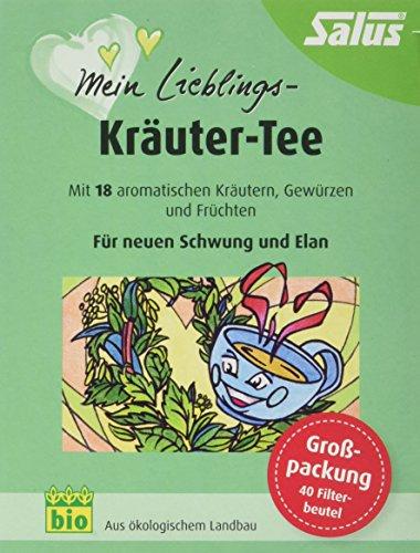 Salus Mein Lieblings-Kräuter-Tee, im FB, 2er Pack (2 x 80 g)