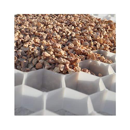 Hamann Kies-Stabilisierungsplatten befahrbar - dauerhafte und stabile Splitt/Kies-Oberfläche