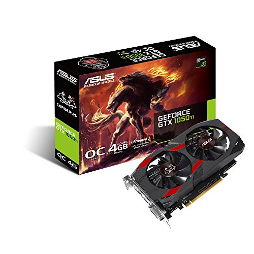 ASUS CERBERUS GeForce GTX 1050 Ti OC Edition...