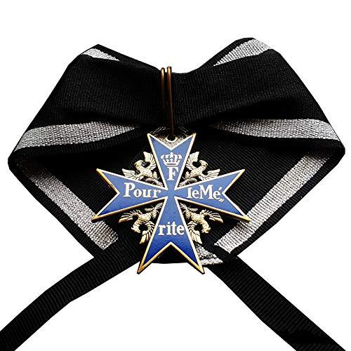 Pour le Merite militär medaillen blau max Höchste Honor Award ersten Weltkrieges Replica …