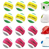 """X-Small Dog Tennis Balls Dog Toys Ball 1.5"""" Pack of 12, Fit Ball Launchers"""