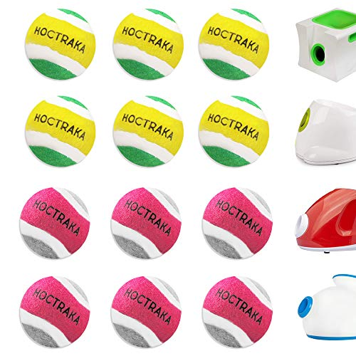 XSmall Dog Tennis Balls Dog Toys Ball 15quot Pack of 12 Fit Ball Launchers