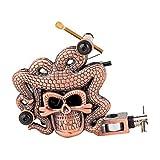 SUPVOX Coil Liner Tattoo Machine Retro Permanent Rotary Brass Color Body Art Craft Supplies ((Red Copper)
