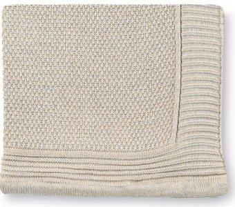 Pirulos 28011613 - Toquilla tricot texturas, 80 x 110 cm, color lino