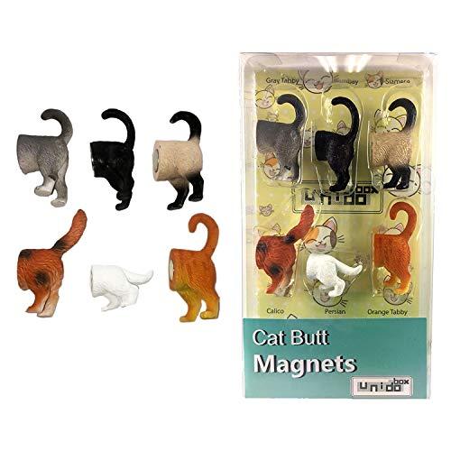 cat lover gift Christmas gifts for sister orange tabby cat refrigerator magnet stocking stuffers for women pet parent gift,