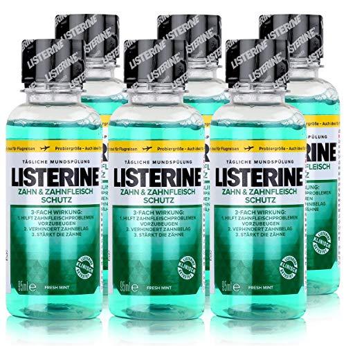 6 * Listerine Mundspülung 95ml Zahnfleischschutz (6 * 95ml)
