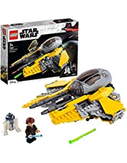 LEGO Star Wars: Revenge of the Sith Anakin's Jedi Interceptor 75281 leuk bouwspeelgoed, Anakin Skywalker set (248 onderdelen)