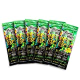 24 Total Beamer Vegan Hemp Wraps (6 Packs of 4) - 1 ¼ Size - No GMOs, Chlorine, or Bleach + Beamer Smoke Sticker