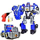 CoolToys Take Apart Robot Toy for Toddlers and Kids, 42 Piece Robot Building Kit with Electric Toy...
