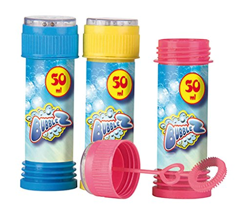 Unbekannt Bubblez–90697–Seifenblasen-Spiel–3x50ml