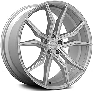 Rosso Icon Custom Wheel Silver - with Machined Face 22