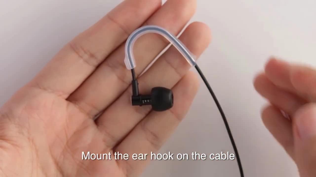 Final E5000 Geräuschisolierender In Ear Kopfhörer Mit Elektronik