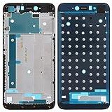 LCD súper Claro LCD Marco Frontal de la Carcasa del Bisel for Xiaomi redmi Nota 5A Primer / Y1 HD (Negro) (Color : Black)