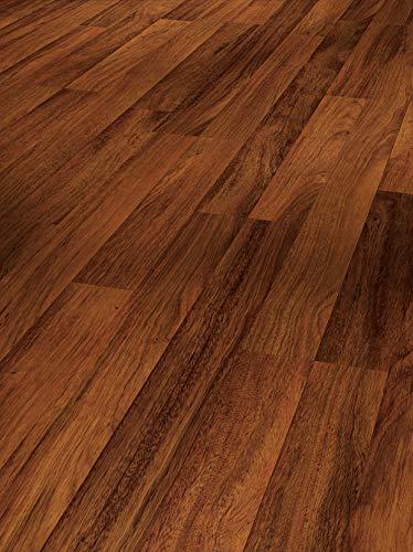 Parador Laminat Urban 8-32 - Merbau - Hochwertiger Laminatboden mit Klick-Verbindung - Set mit 10 Dielen im Paket = 2,49 m²