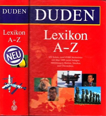 Duden Lexikon A - Z. Rund 45 000 Stichwörter