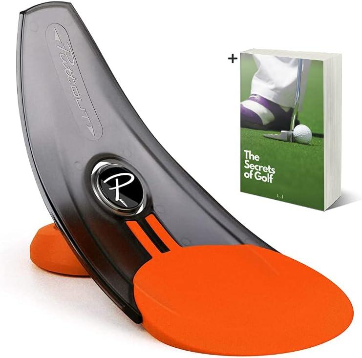 Puttout Outlet ☆ Free Shipping Pressure Putt Store Trainer- Orange Return Ball Pu Putter Golf