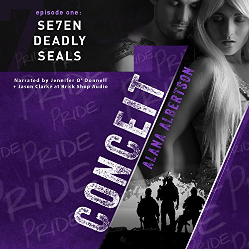 Conceit audiobook cover art
