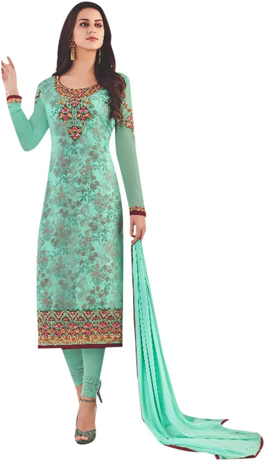Indian Designer Salwar Kameez suit With Dupatta Ethnic Pajami Style Party Formal Wear 7176