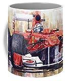 Lplpol 2011 Ferrari 150 Italia Fernando Alonso F1 Tazza da tè da caffè 325 ml