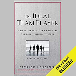 Page de couverture de The Ideal Team Player