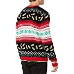 Blizzard Bay Men's Ugly Christmas Sweater Food 6 Festive and humorous patterns that are perfect for the holiday season Made with a soft knit for a comfortable and easy fit