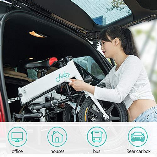 FIIDO Vélo Électrique Pliant Léger et Imperméable Ebike avec MoteurJusqu'à 25 km/h 7.8Ah Batterie au Lithium de Grande Capacité(Délai de Livraison 5-7 Jours)