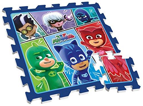 Stamp - Jouets d'Eveil - Tapis de Sol en Mousse - PJ Masks - Pyjamasque, TP280001