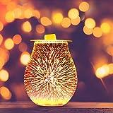 Blingbin Feuerwerk Aroma Lampe, 3D...