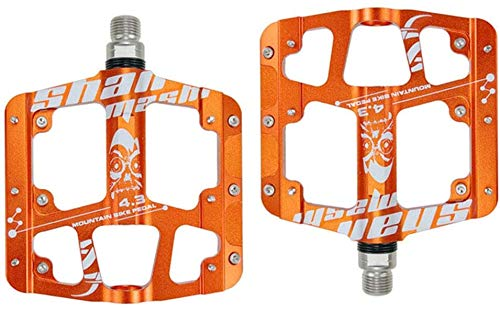 Bike Pedal, CNC gefräste Aluminiumgehäuse abgedichtete Lager, MTB BMX-Fahrrad-Pedal 9/16