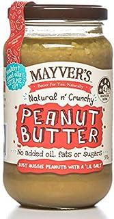 Mayver's Super Natural Crunchy Peanut Butter 375 g (B07YF4JNY8) | Amazon price tracker / tracking, Amazon price history charts, Amazon price watches, Amazon price drop alerts