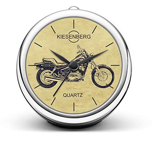 KIESENBERG Design Orologio da Tavolo Regalo per EN 500 C/A Fan Clock T-5228