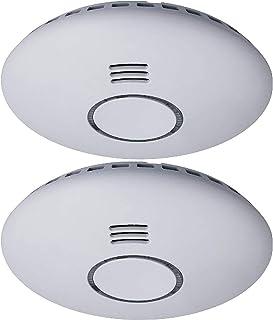 Smartwares RM174RF/2 Rookmelder – 85 dB – Inclusief batterijen – Koppelbaar, wit