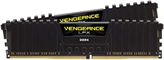 CORSAIR CS-CMK16GX4M2D3600C18 Vengeance LPX 16GB (2 x 8GB) DDR4 DRAM 3600MHz C18 Memory Kit, Black