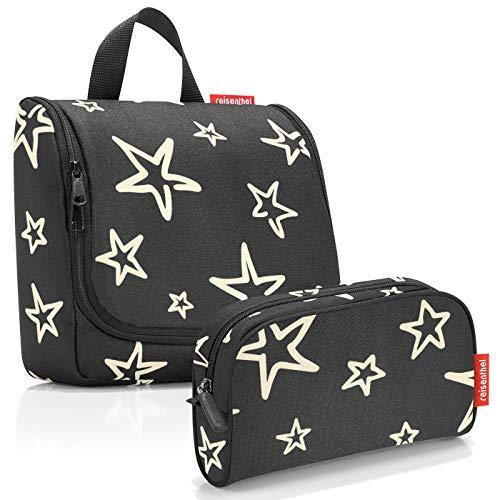 reisenthel Exklusiv-Set: toiletbag Kulturtasche Plus GRATIS makeupcase Kosmetiktasche Etui (Stars)