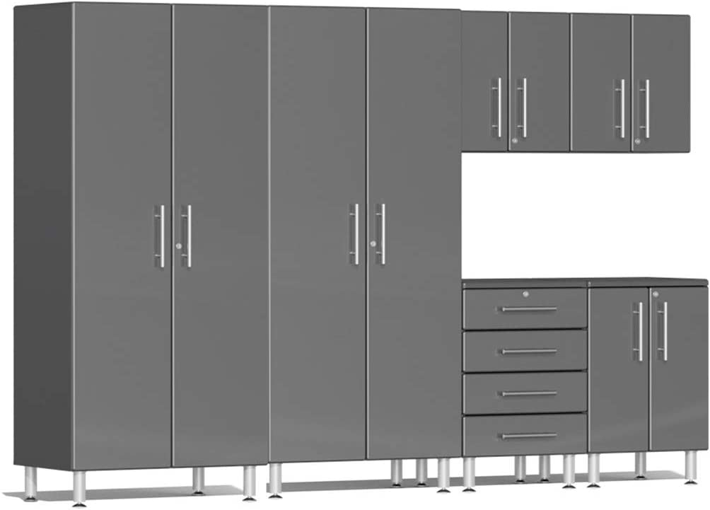 Ulti-MATE UG23060G 6-Piece Garage Cabinet Grey Kit Graphite Time Inventory cleanup selling sale sale in M