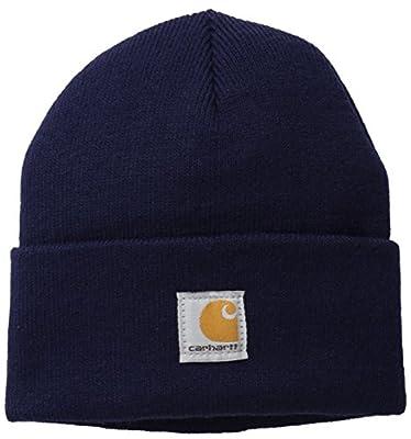 Carhartt Boys' And Girls' Acrylic Watch Hat, Peacoat, Youth
